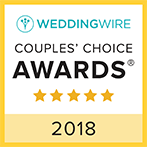 Weddingsbylowell WeddingWire Couples Choice Award Winner 2017